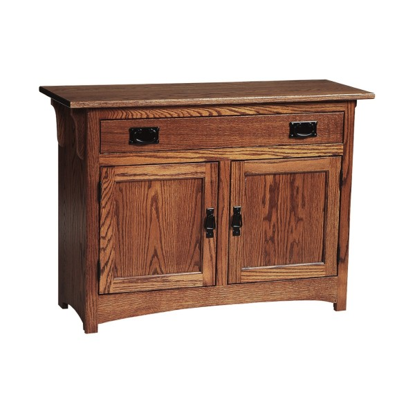 Mission Foyer Cabinet : Mission cabinet end table amish