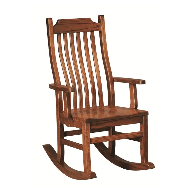Living Rocking Chairs Mission Rocker
