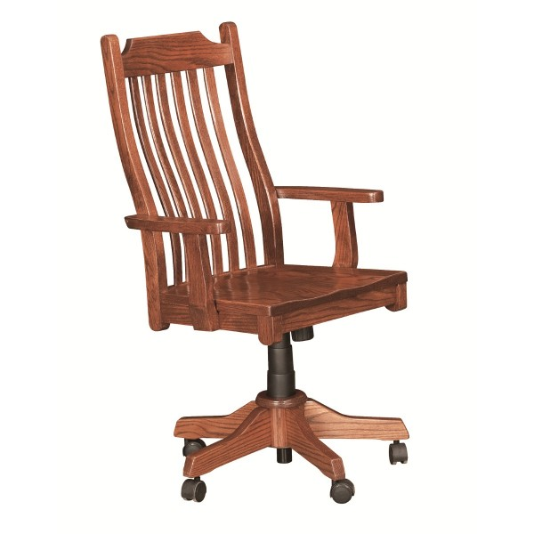 mission office chair amish mission office chair