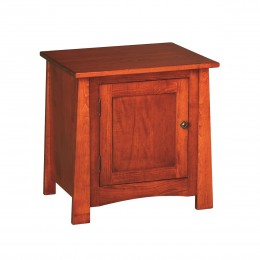 Craftsmen Cabinet End Table
