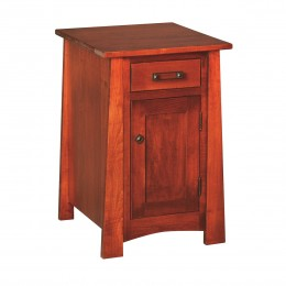 Craftsmen Cabinet Chairside Table