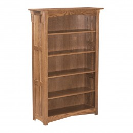 Mission 5' Bookcase