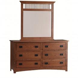 Mission Large Dresser & Mirror