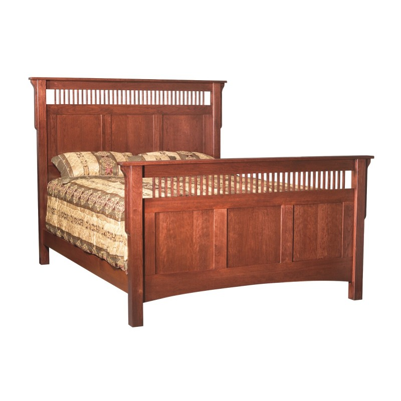 Mission Bed | Amish Made Mission Bed - Country Lane Furniture