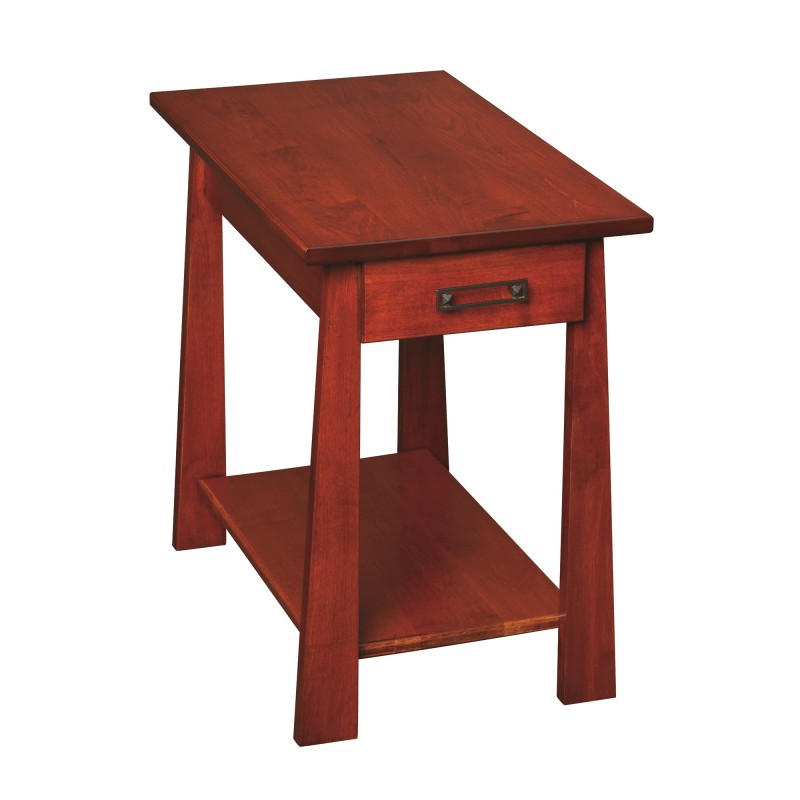 Craftsmen Chairside Table Solid Maple Chairside Table