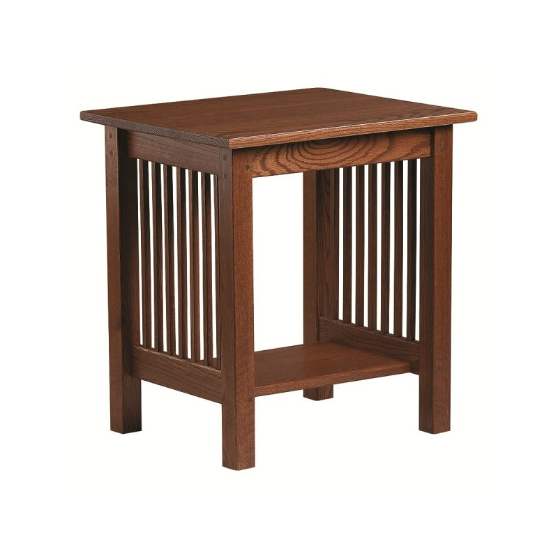 Mission Small End Table | Amish Mission Small End Table