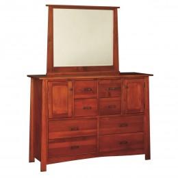 Craftsmen Large Dresser & Mirror