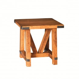 Olde Farmstead Large End Table