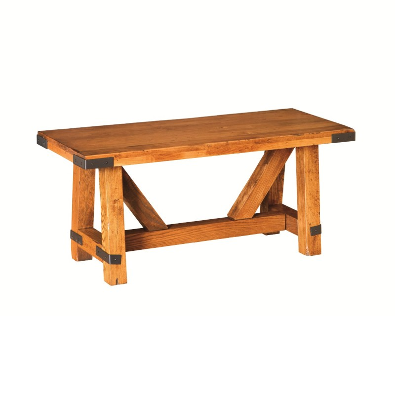 olde farmstead coffee table | amish made coffee table - country