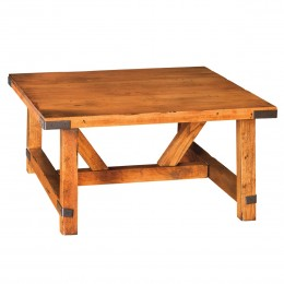 Olde Farmstead Square Coffee Table