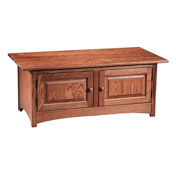 Shaker Cabinet Coffee Table Amish Shaker Cabinet Coffee Table Country Lane Furniture