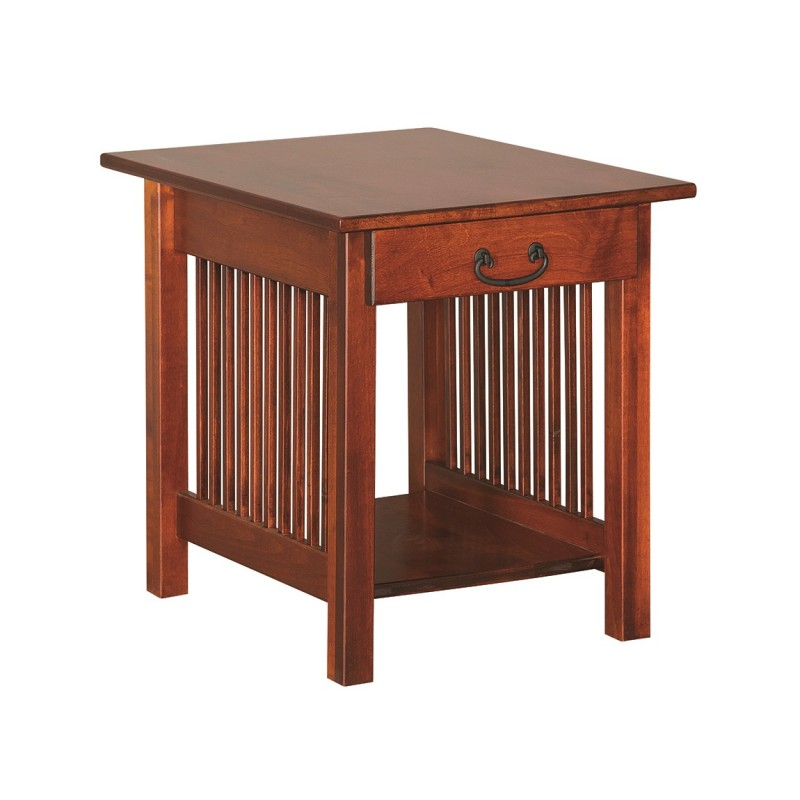 Mission End Table Amish Mission End Table Country Lane