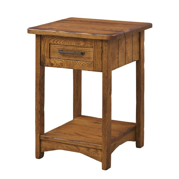Farmstead 1 Drawer Nightstand | Amish Nightstand - Country ...