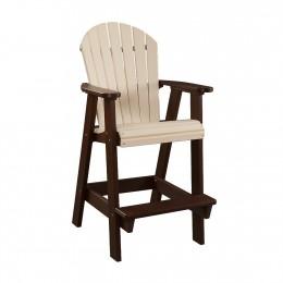 Fanback Patio Arm Chair