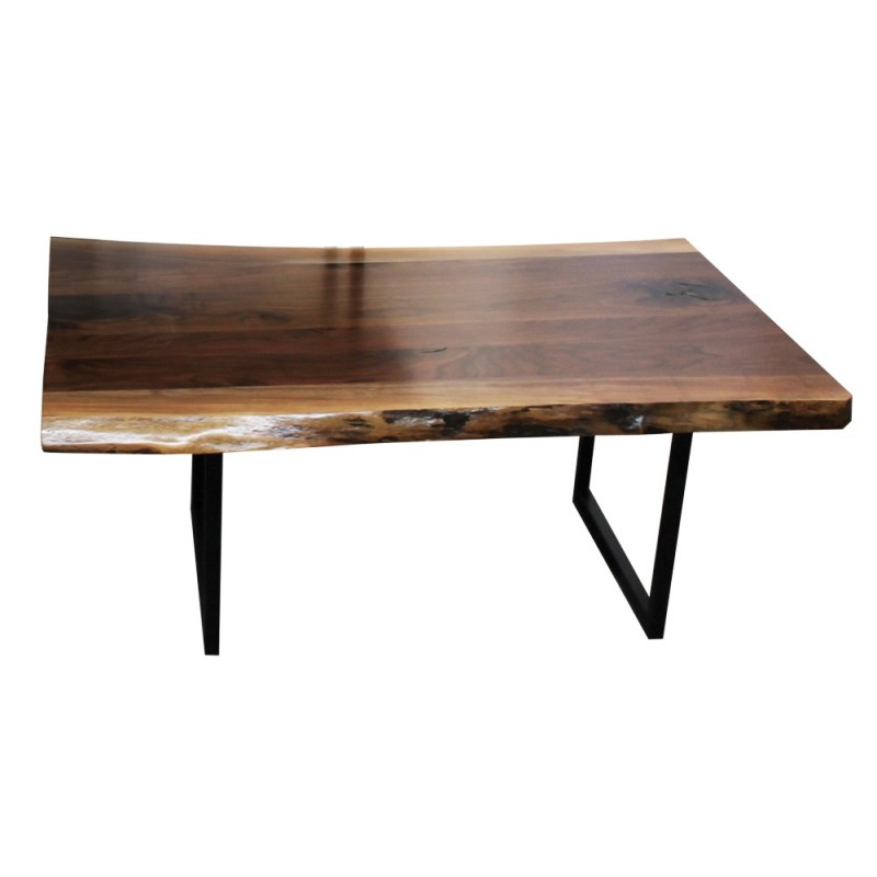 Walnut Live Edge Coffee Table Amish Live Edge Coffee