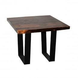 Walnut Large Live Edge End Table
