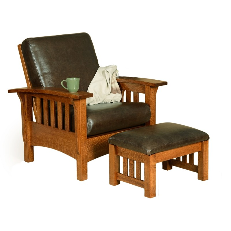 Classic mission morris chair amish classic mission morris chair