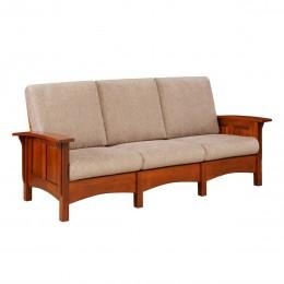 Paneled Mission Sofa