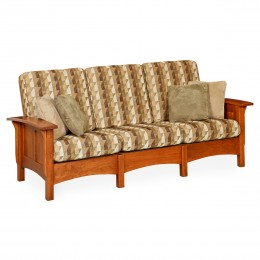 Paneled Mission Sofa