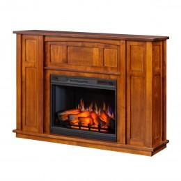 Paneled Mission Fireplace Mantel