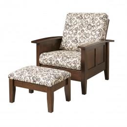 Shaker Morris Chair & Ottoman