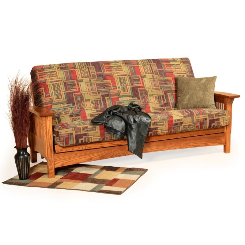 Mission Futon Living Room Sets
