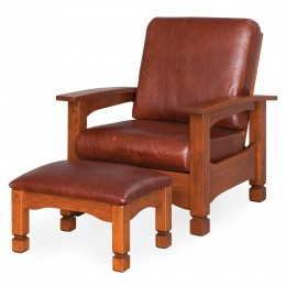 Lodge Morris Chair & Ottoman