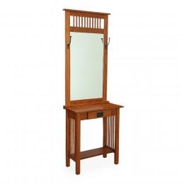 Mission Hall Table & Mirror