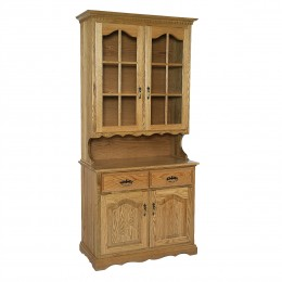 Traditional 2 Door Hutch