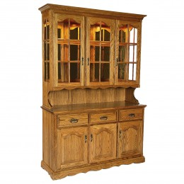 Traditional 3 Door Hutch