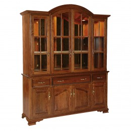 Queen Anne Large 4 Door Hutch