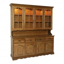 Traditional 4 Door Hutch