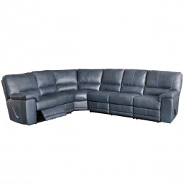 Genuine Leather Sectional