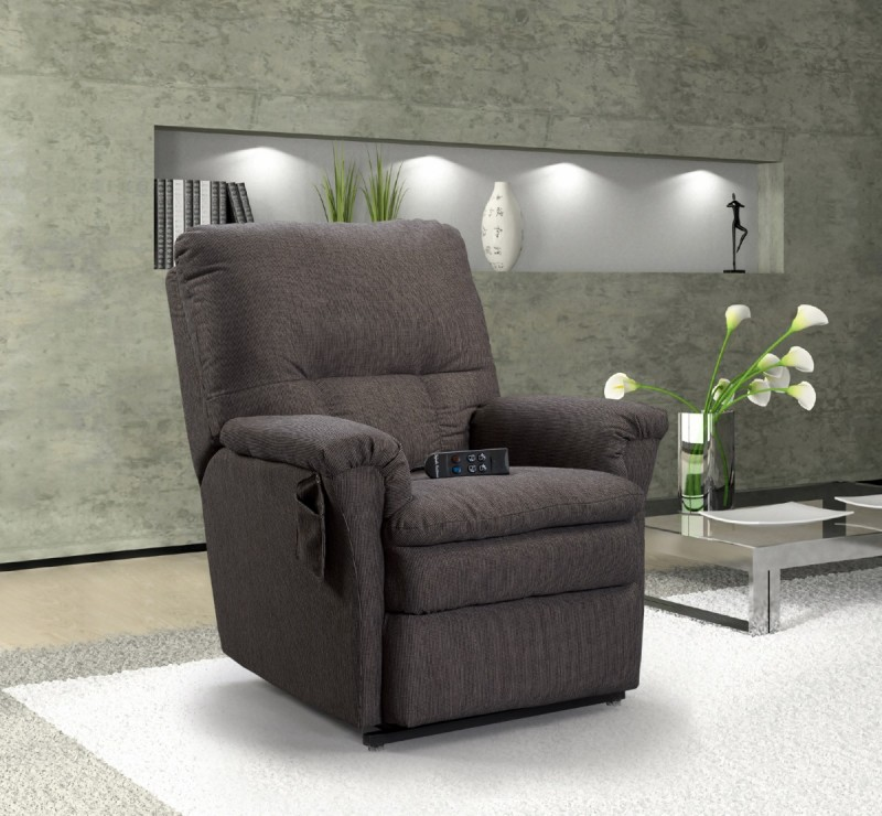 American Furniture Recliner Spring Placement: North American Made Recliner - Country