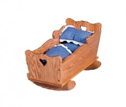 Small Doll Cradle