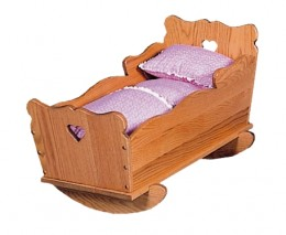 Medium Doll Cradle