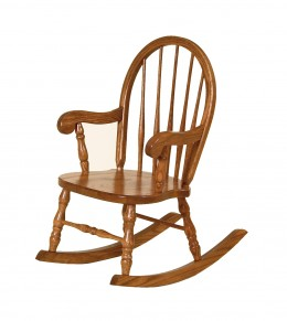 Bow Back Rocking Chair