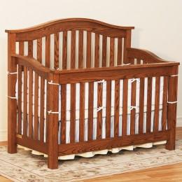 Mission Arch Crib