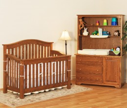 Mission Arch Crib Set