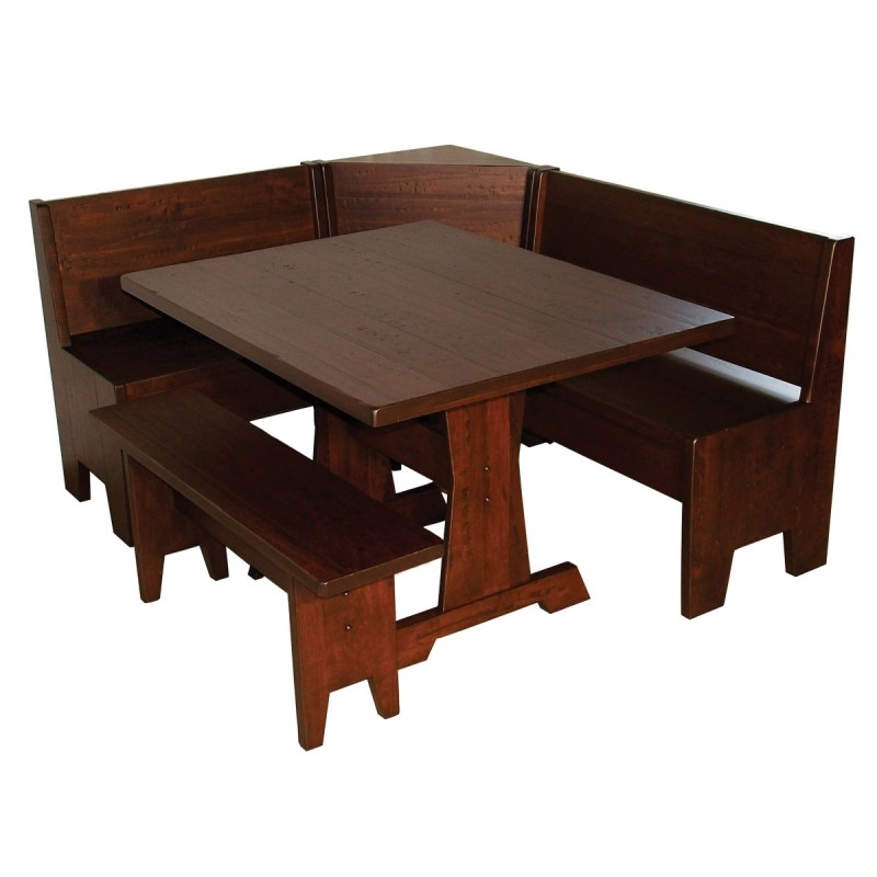 heritage corner breakfast nook amish corner breakfast nooks