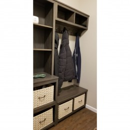 Custom Mudroom Storage Bench