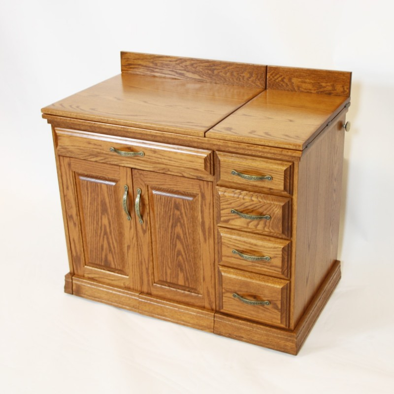 Single Pedestal Sewing Cabinets At Country Lane Furniture