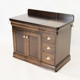 Single Pedestal Sewing Cabinet