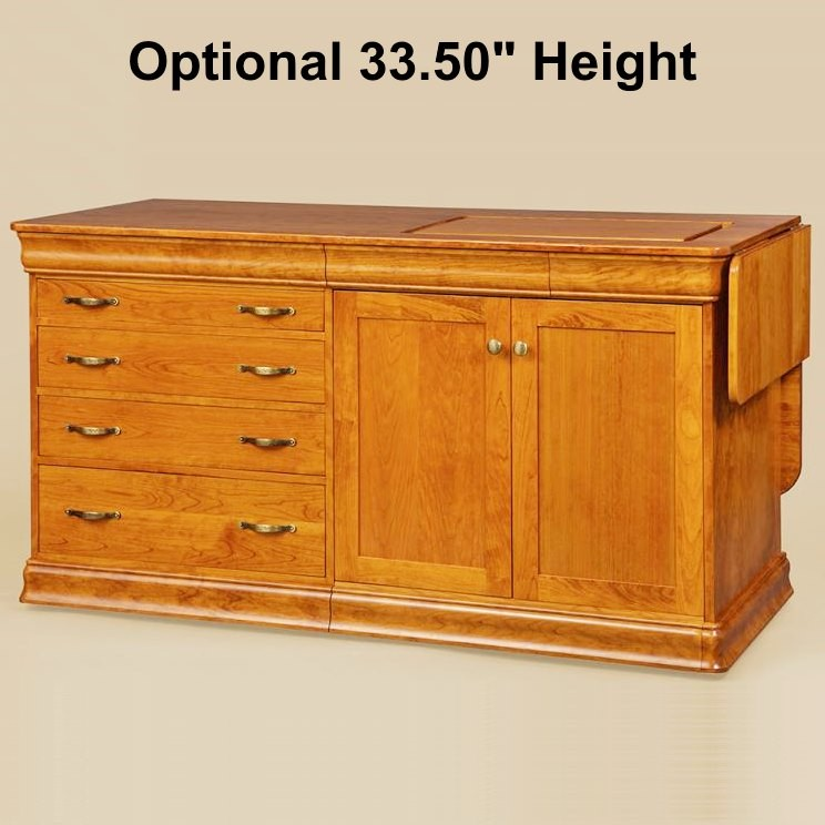 Sewing Cabinets & Sewing Tables - Amish-made, Solid Wood - Country ...