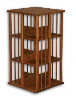 3 Tier Swivel Book Rack