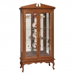 Queen Anne Double Door Curio
