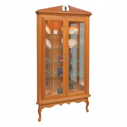 Solid Hardwood Curio Cabinets - Country Lane Furniture - Country ...