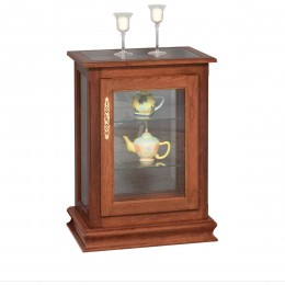 Console End Table Curio