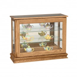 Small Sliding Door Console Curio