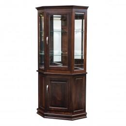 Deluxe Corner Cabinet Curio